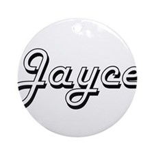 Jayce Classic Style Name Ornament (Round)