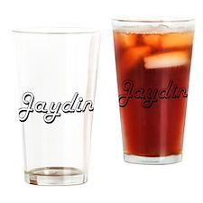 Jaydin Classic Style Name Drinking Glass