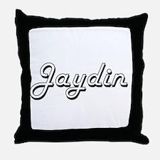 Jaydin Classic Style Name Throw Pillow