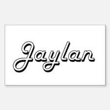 Jaylan Classic Style Name Decal