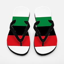 Pan-African UNIA Liberation Flag Flip Flops