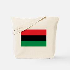 Pan-African UNIA Liberation Flag Tote Bag