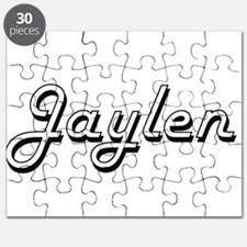 Jaylen Classic Style Name Puzzle