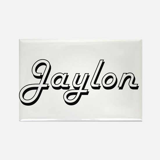 Jaylon Classic Style Name Magnets
