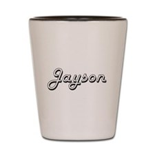 Jayson Classic Style Name Shot Glass