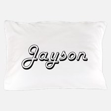Jayson Classic Style Name Pillow Case