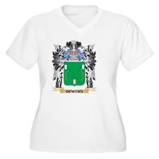 Bowers Coat of Arms - Family Cre Plus Size T-Shirt