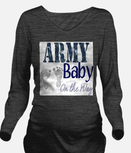 blue army baby on way2 T-Shirt