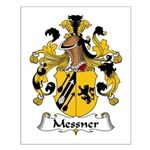 Messner Family Crest Small Poster