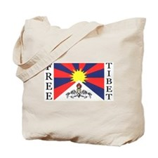 FREE TIBET! Tote Bag