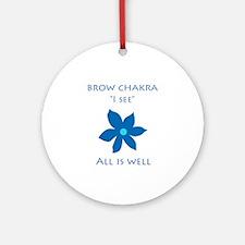 brow chakra Ornament (Round)