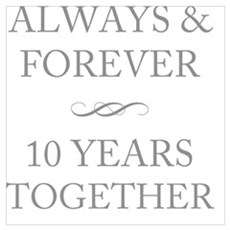 10 Years Together Poster