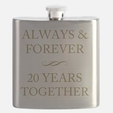20 Years Together Flask