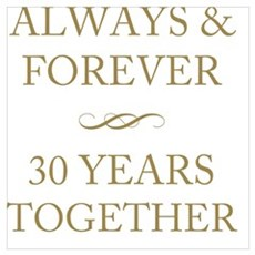 30 Years Together Poster