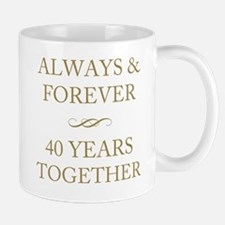 40 Years Together Mug