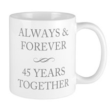 45 Years Together Mug