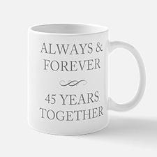 45 Years Together Mug