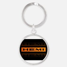 Cool Chevy cars Round Keychain