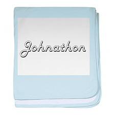 Johnathon Classic Style Name baby blanket
