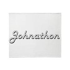 Johnathon Classic Style Name Throw Blanket