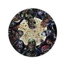 Zombies Full Moon Button