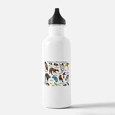 Animals of Madagascar Water Bottle