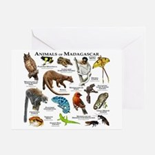 Animals of Madagascar Greeting Card