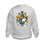 Meier Family Crest Kids Sweatshirt