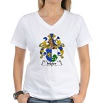 Meier Family Crest Women's V-Neck T-Shirt