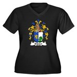 Meier Family Crest Women's Plus Size V-Neck Dark T