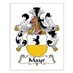 Mayr Family Crest  Small Poster