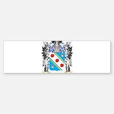 Bown Coat of Arms - Family Crest Bumper Bumper Bumper Sticker