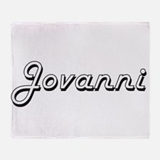 Jovanni Classic Style Name Throw Blanket