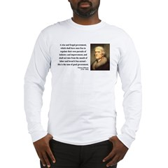 Thomas Jefferson 23 Long Sleeve T-Shirt