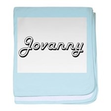 Jovanny Classic Style Name baby blanket