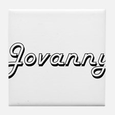 Jovanny Classic Style Name Tile Coaster