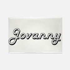 Jovanny Classic Style Name Magnets