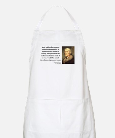 Thomas Jefferson 23 BBQ Apron