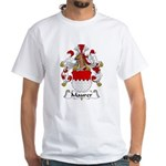 Maurer Family Crest White T-Shirt