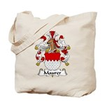Maurer Family Crest Tote Bag