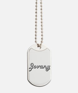 Jovany Classic Style Name Dog Tags
