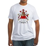 Maurer Family Crest Fitted T-Shirt