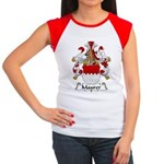 Maurer Family Crest Women's Cap Sleeve T-Shirt