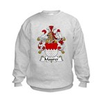 Maurer Family Crest Kids Sweatshirt