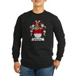 Maurer Family Crest Long Sleeve Dark T-Shirt