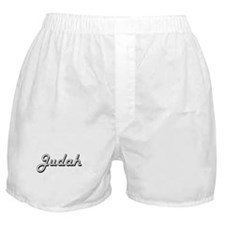 Judah Classic Style Name Boxer Shorts