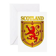 Scotland (COA) Greeting Cards