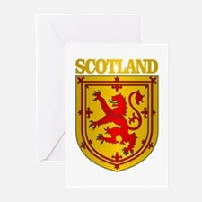 Scotland (COA) Greeting Cards