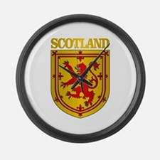 Scotland (COA) Large Wall Clock