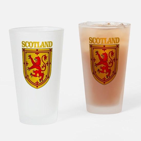 Scotland (COA) Drinking Glass